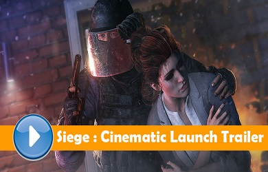 Rainbow Six Siege Cinematic Launch Trailer Web