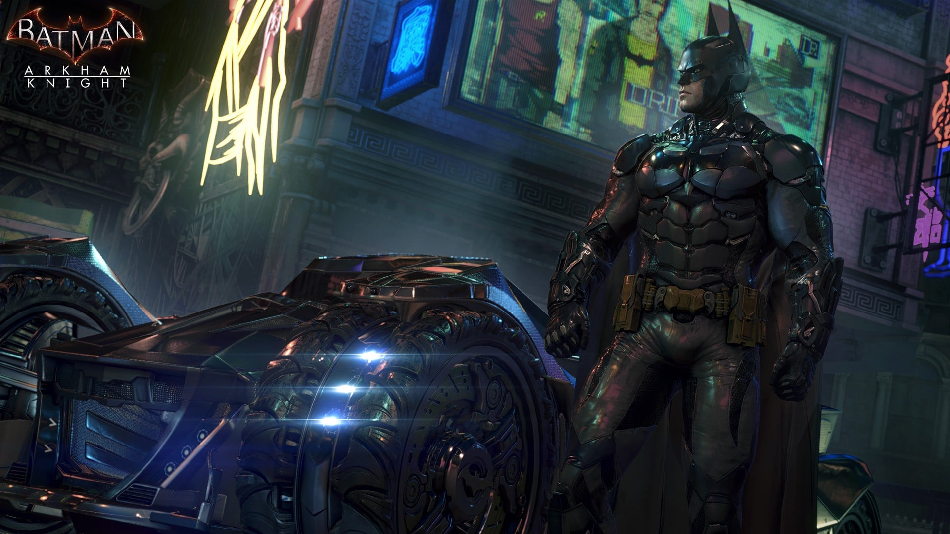 50 Set of Batman : Arkham Knight Wallpaper 1920 X 1080 HD