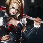 Harley Quinn Close Up Wallpaper