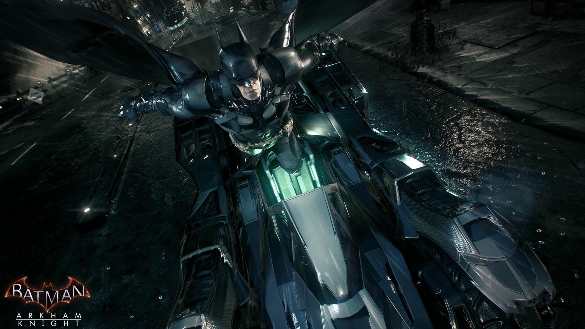 Batman Arkham Knight Batmobile Wallpaper by Jarminx on DeviantArt