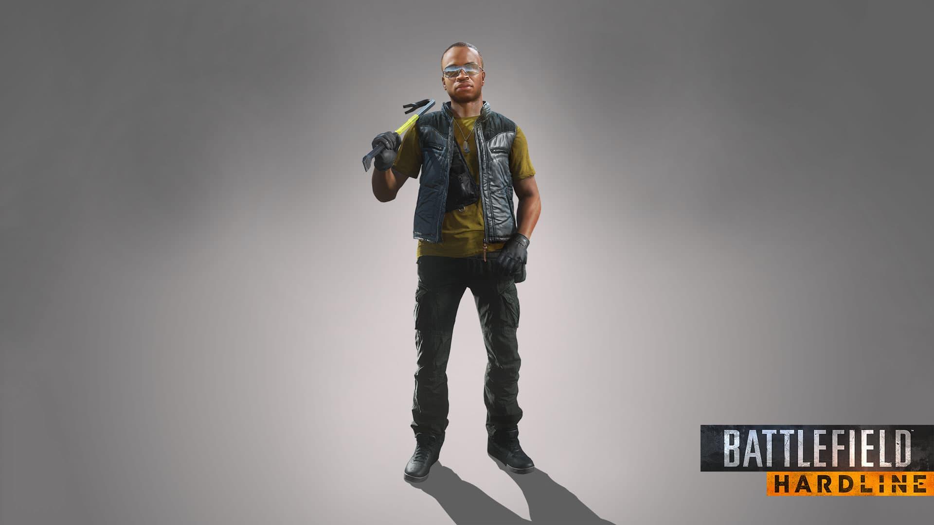Battlefield Hardline - CharacterRender Boomer