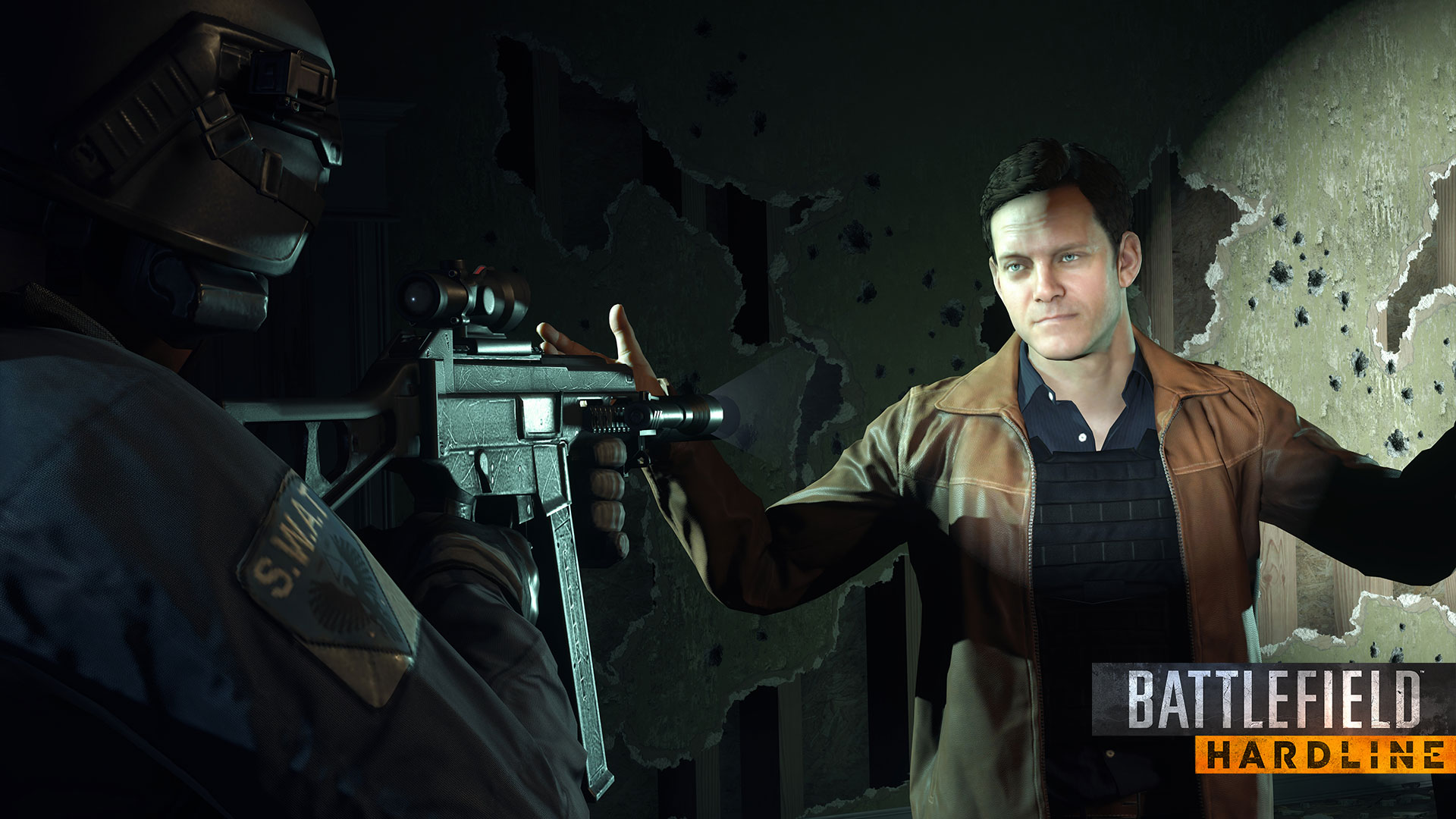 Battlefield Hardline - Tyson in Gunpoint