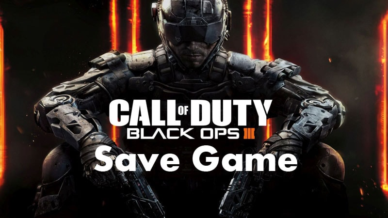 Black Ops III Save Game