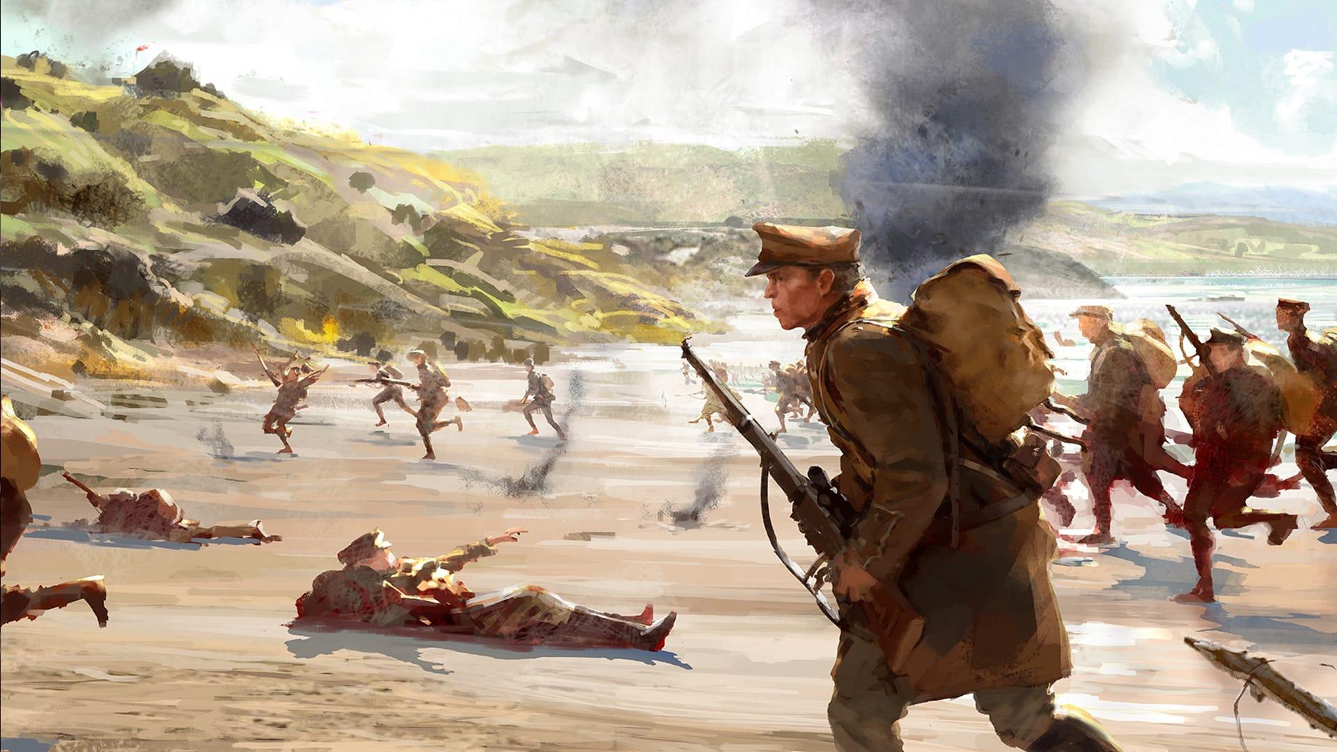 Battlefield 1 official reveal trailer 2016 world war 1 - 5 8