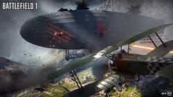 Battlefield 1 Helicopter vs Baloon Wallpaper