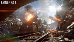 Battlefield 1 War Train Army