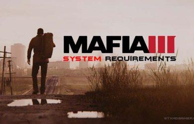 Mafia 3 system requirements