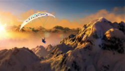 Steep Wallpaper - Noon Paraglide