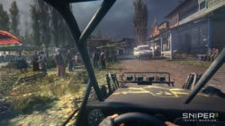 Sniper Ghost Warrior 3 Wallpaper - Vehicle View