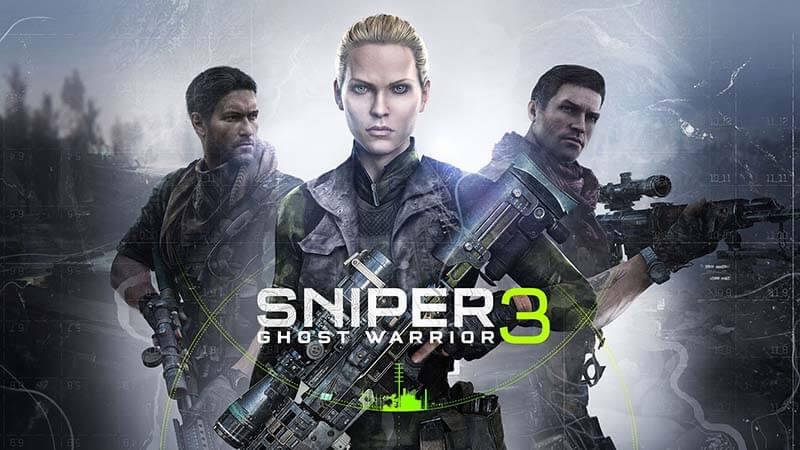 Sniper Ghost Warrior 3 Wallpaper - Girl Character
